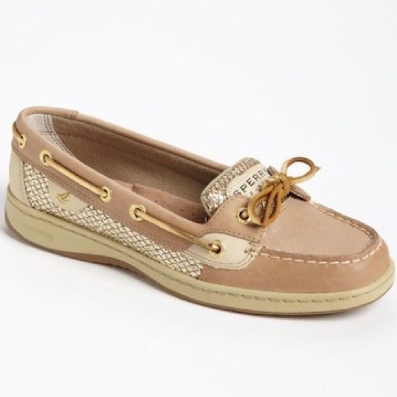 Sperry Angelfish Gold Sparkle Topsider